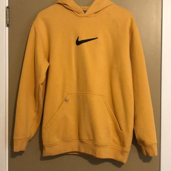 low cost popular stores best sell Mustard Yellow Women's L Vintage Nike Sweatshirt